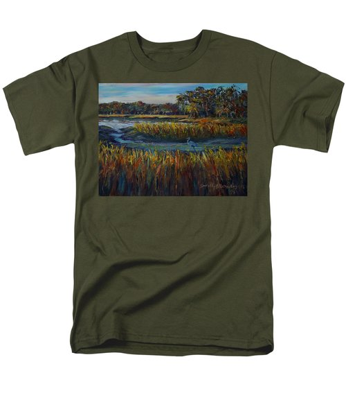 Late Afternoon Men's T-Shirt  (Regular Fit) by Dorothy Allston Rogers