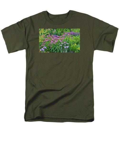 Late July Garden 2 Men's T-Shirt  (Regular Fit) by Janis Nussbaum Senungetuk