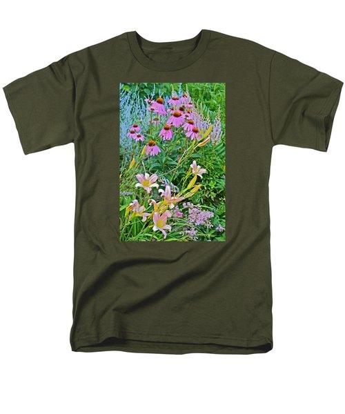 Late July Garden 3 Men's T-Shirt  (Regular Fit) by Janis Nussbaum Senungetuk