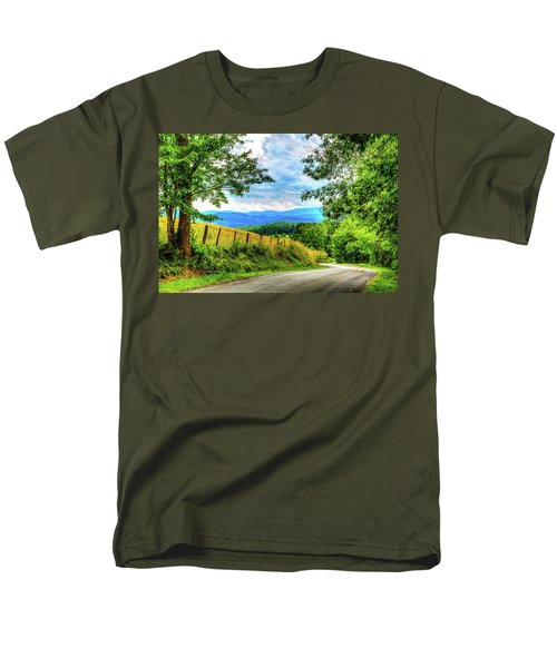 Laurel Hill View Men's T-Shirt  (Regular Fit) by Dale R Carlson