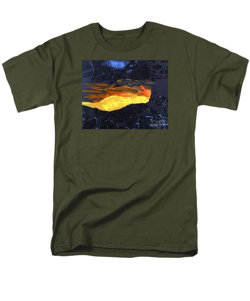 Lava Flow Men's T-Shirt  (Regular Fit) by Karen Nicholson