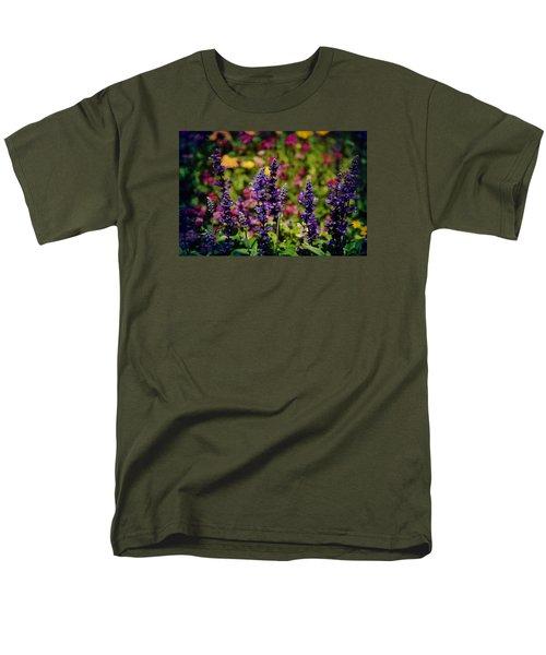 Lavender Men's T-Shirt  (Regular Fit) by Milena Ilieva
