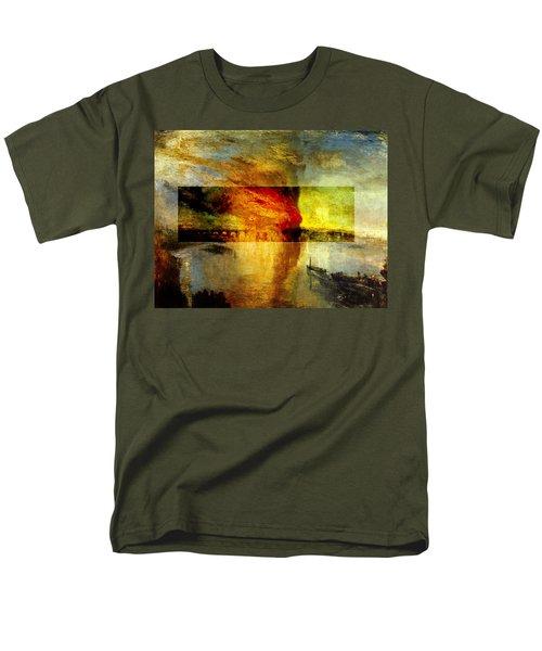 Layered 12 Turner Men's T-Shirt  (Regular Fit) by David Bridburg