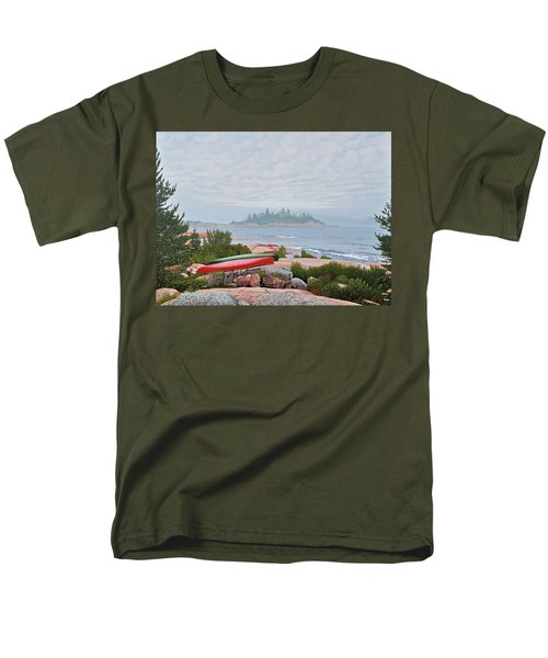 Le Hayes Island Men's T-Shirt  (Regular Fit) by Kenneth M Kirsch