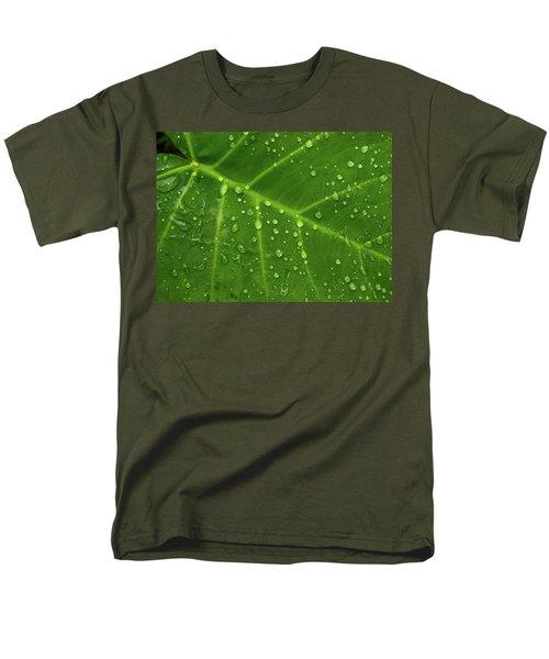 Leaf Drops Men's T-Shirt  (Regular Fit) by Art Shimamura