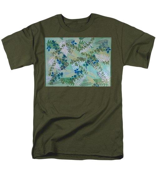 Leafy Floor Cloth - Sold Men's T-Shirt  (Regular Fit) by Judith Espinoza