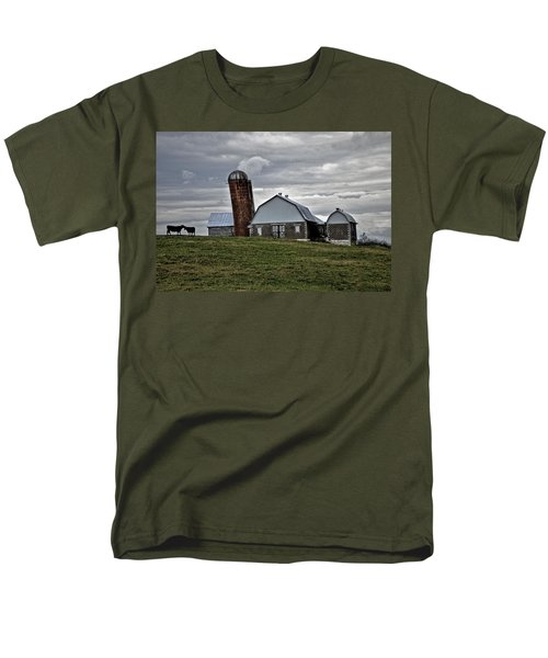 Men's T-Shirt  (Regular Fit) featuring the photograph Lean On Me by Robert Geary
