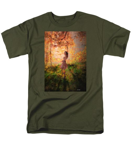 Men's T-Shirt  (Regular Fit) featuring the photograph Leave The Past by Rose-Maries Pictures
