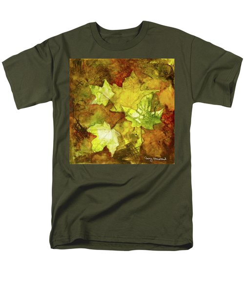 Leaves Men's T-Shirt  (Regular Fit) by Terry Honstead