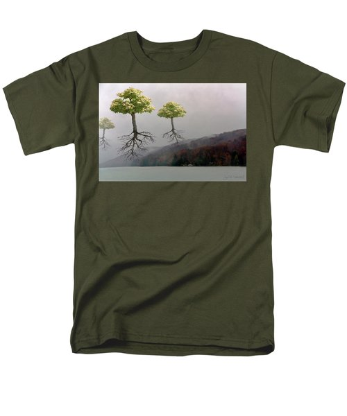Leaving Home Men's T-Shirt  (Regular Fit) by Joan Ladendorf