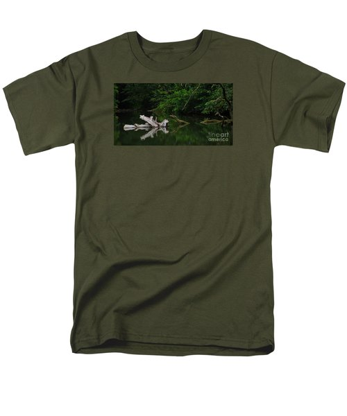 Men's T-Shirt  (Regular Fit) featuring the photograph Left Behind by Pamela Blizzard