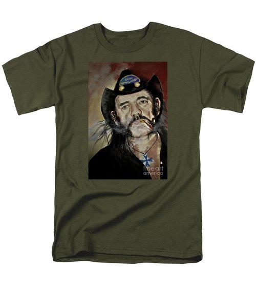 Lemmy Kilmister Motorhead Men's T-Shirt  (Regular Fit) by Maja Sokolowska