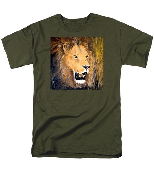 Leo Men's T-Shirt  (Regular Fit) by Alan Lakin