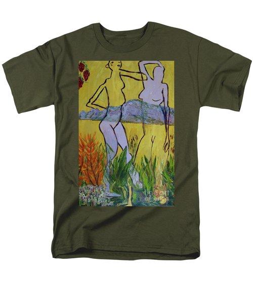 Les Nymphs D'aureille Men's T-Shirt  (Regular Fit)