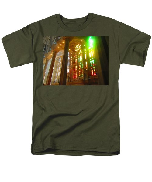 Light Of Gaudi Men's T-Shirt  (Regular Fit) by Christin Brodie
