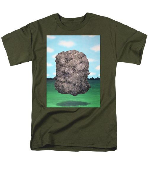 Men's T-Shirt  (Regular Fit) featuring the painting Light Rock by Thomas Blood