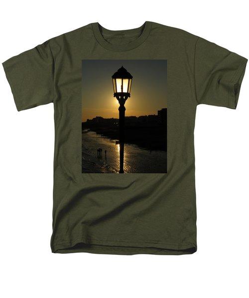 Lighting Up The Beach Men's T-Shirt  (Regular Fit) by John Topman