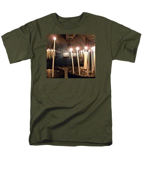 Lights Of Hope Men's T-Shirt  (Regular Fit) by Amelia Racca