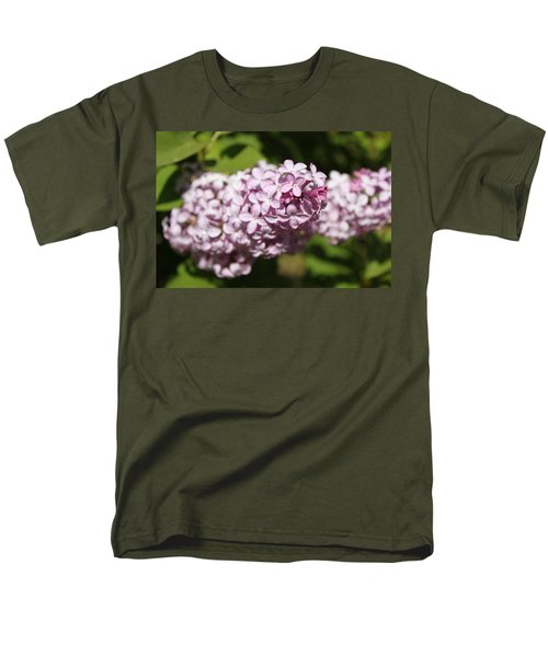 Men's T-Shirt  (Regular Fit) featuring the photograph Lilacs 5549 by Antonio Romero