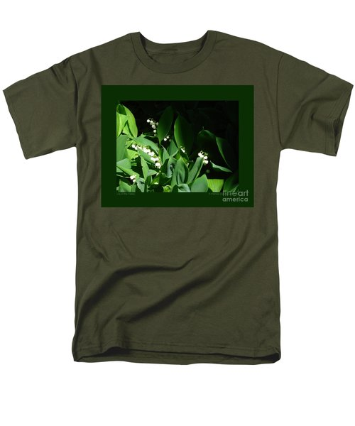 Lily Of The Valley Men's T-Shirt  (Regular Fit) by Patricia Overmoyer
