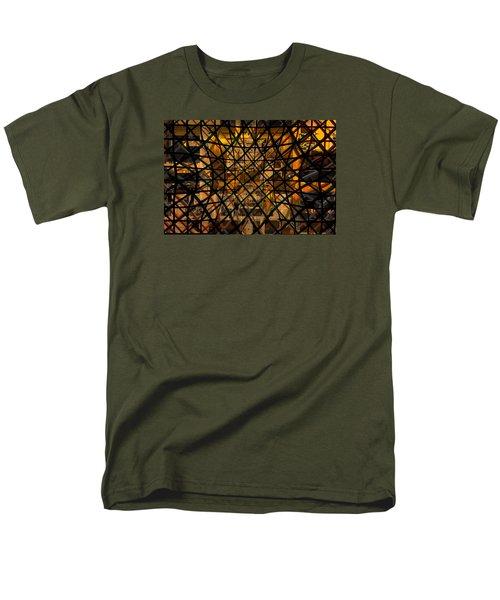 Linear Contingency Men's T-Shirt  (Regular Fit) by Don Gradner