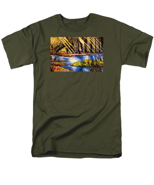 Lisas Neck Of The Woods Men's T-Shirt  (Regular Fit) by Alexandria Weaselwise Busen