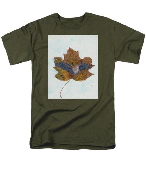 Little Brown Bat Men's T-Shirt  (Regular Fit) by Ralph Root