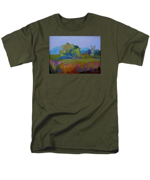 Little Miami Meadow Men's T-Shirt  (Regular Fit) by Francine Frank
