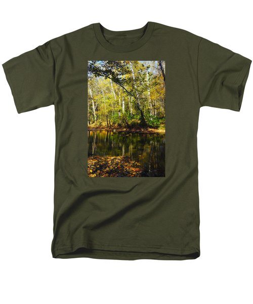 Little Miami River Men's T-Shirt  (Regular Fit) by Beth Akerman