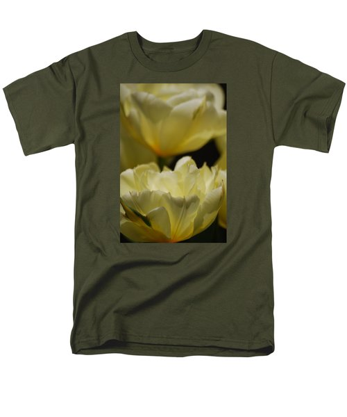 Men's T-Shirt  (Regular Fit) featuring the photograph Little Teacups by Ramona Whiteaker