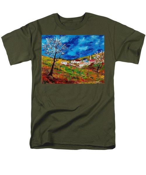 Little Village Men's T-Shirt  (Regular Fit) by Mike Caitham