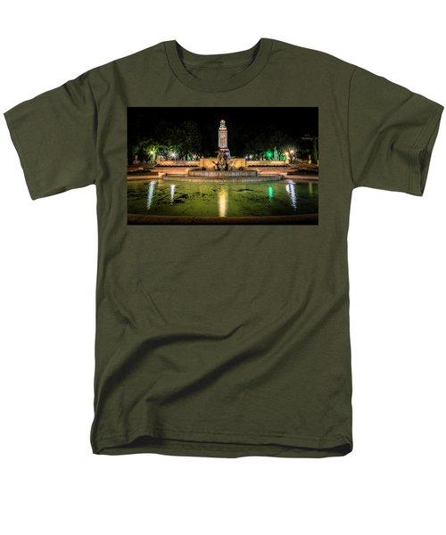 Men's T-Shirt  (Regular Fit) featuring the photograph Littlefield Gateway by David Morefield