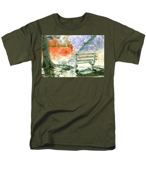 Living Color Men's T-Shirt  (Regular Fit) by David Stasiak