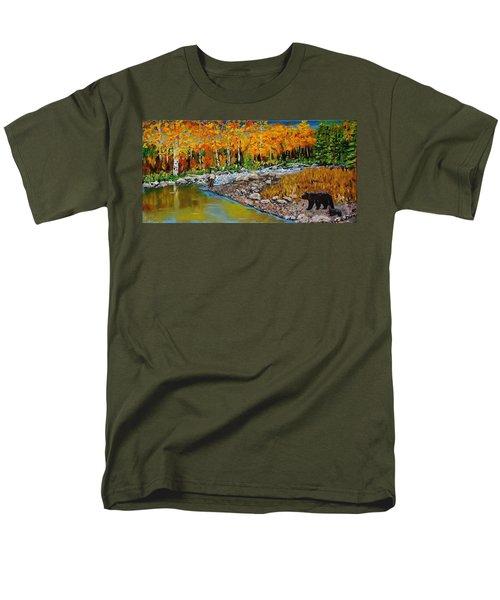 Look Around Joe Men's T-Shirt  (Regular Fit) by Mike Caitham