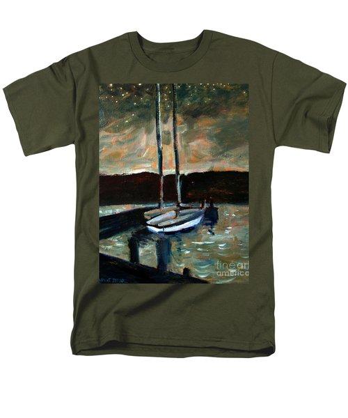 Looking Across Upper Lake Camp Wayne Men's T-Shirt  (Regular Fit)