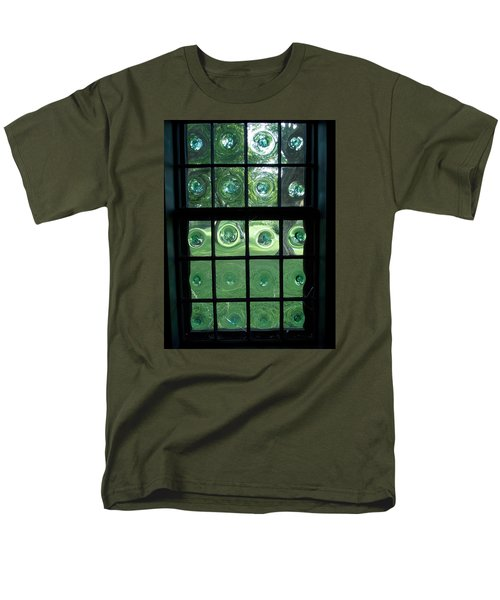 Looking Thru Bubble Glass Window Men's T-Shirt  (Regular Fit) by Catherine Gagne