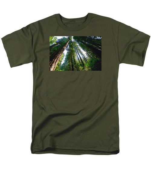 Men's T-Shirt  (Regular Fit) featuring the photograph Looking Up by Lynn Hopwood