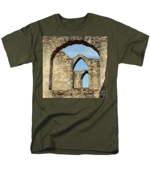 Los Arcos De La Mision San Jose Men's T-Shirt  (Regular Fit) by Joe Jake Pratt