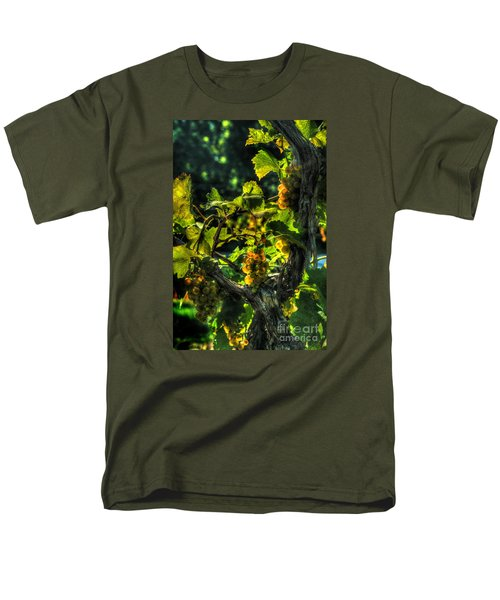 Men's T-Shirt  (Regular Fit) featuring the digital art Lost Creek Chardonel by William Fields