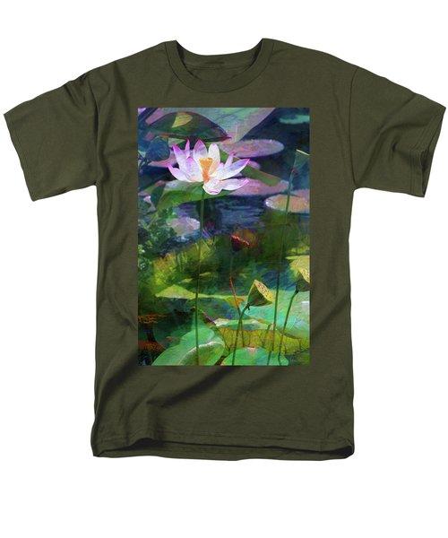 Lotus Men's T-Shirt  (Regular Fit) by John Rivera