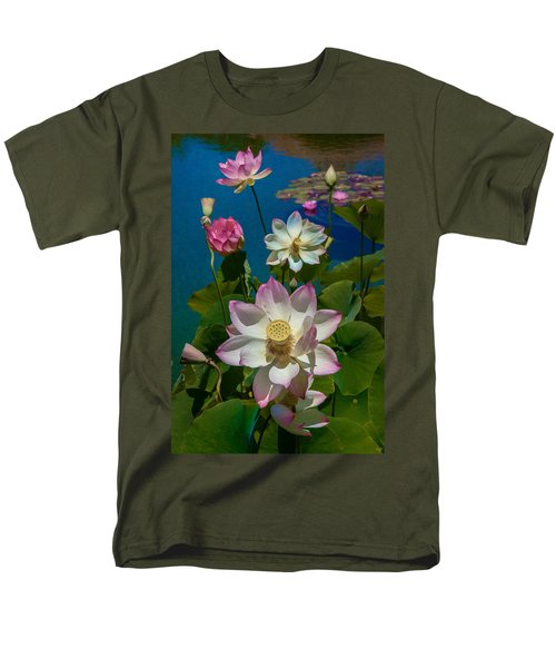 Lotus Pool Men's T-Shirt  (Regular Fit) by Chris Lord