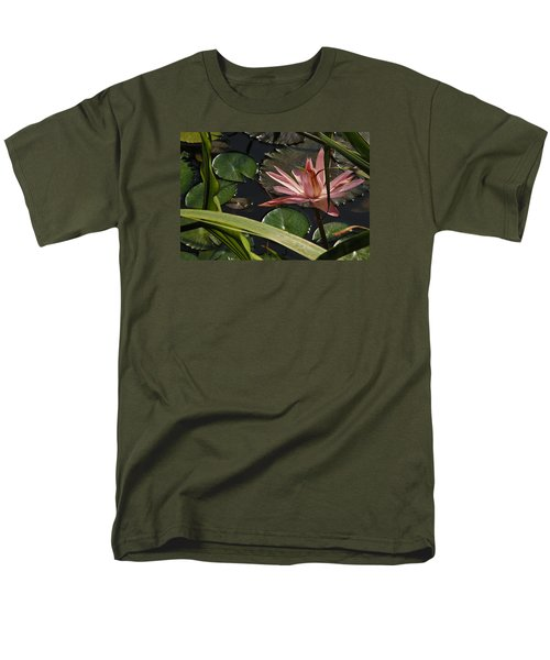 Louisiana Waterlilly Men's T-Shirt  (Regular Fit) by Ronald Olivier