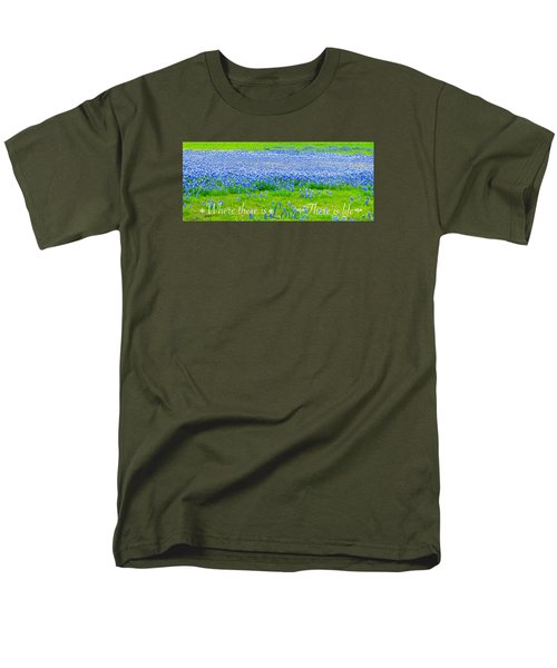 Men's T-Shirt  (Regular Fit) featuring the photograph Love by David Norman