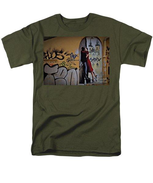 Love Is Everywhere Men's T-Shirt  (Regular Fit) by AmaS Art
