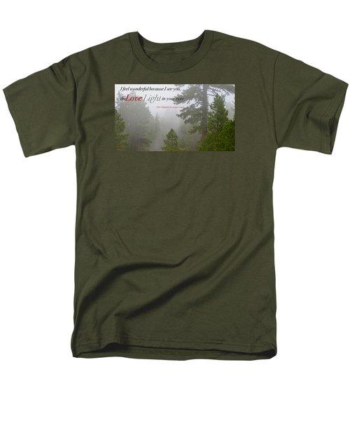 Men's T-Shirt  (Regular Fit) featuring the photograph Love Light by David Norman