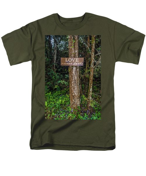Love On A Tree Men's T-Shirt  (Regular Fit) by Josy Cue
