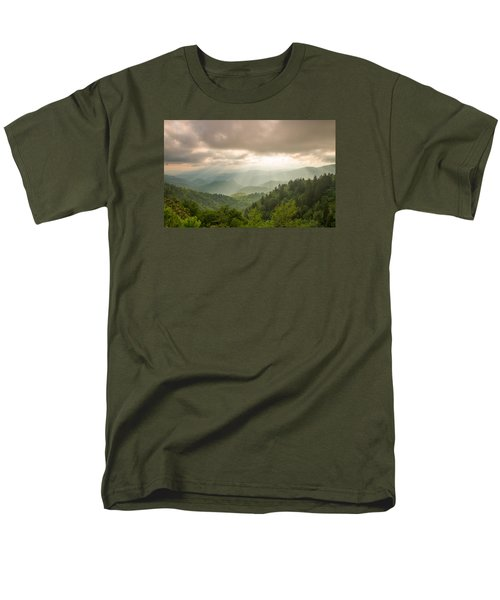 Men's T-Shirt  (Regular Fit) featuring the photograph Love Shines Down by Doug McPherson