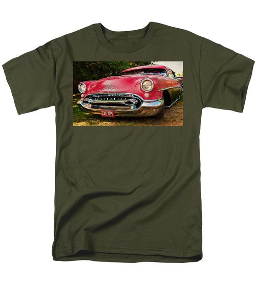 Men's T-Shirt  (Regular Fit) featuring the photograph Low Rider Olds by Trey Foerster