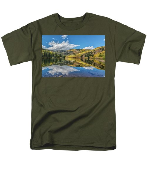 Lower Cataract Lake Aspen Men's T-Shirt  (Regular Fit) by Stephen Johnson