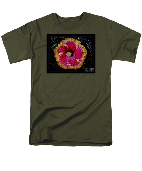 Luminous Bloom Men's T-Shirt  (Regular Fit) by Darleen Stry